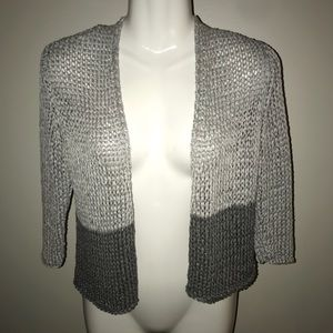 Eileen Fisher knitted cover up jacket